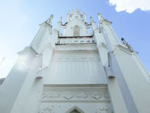 Main building of Royal cemetry at Wat Ratchabopit Royalty Free Stock Photography