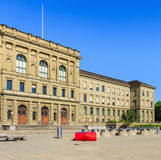 Main building of the Swiss Federal Institute of Technology in Zu. Zurich, Switzerland - 20 July, 2016: the main building of the Swiss Federal Institute of Royalty Free Stock Photography