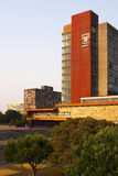 Main building at UNAM Royalty Free Stock Photos