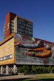 Main building at UNAM Royalty Free Stock Image