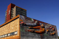Main building at UNAM Royalty Free Stock Image