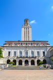 Main Building UT Tower at University of Texas Austin College Campus Royalty Free Stock Photo