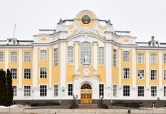 Main building of Voronezh State Agricultural University Royalty Free Stock Images