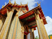 Main building of Wat Ratchabopit Royalty Free Stock Photography