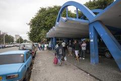 Main bus station un Havana Stock Images