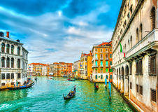 The Main Canal of Venice Royalty Free Stock Image