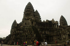 The main castle Angkor Wat Royalty Free Stock Image