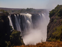 Main Cataract of Victoria Falls. (from Zimbabwean side Royalty Free Stock Images