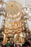 Main cathedral altar in Granada, Spain Royalty Free Stock Image
