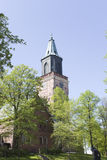 Main Cathedral of Finland Stock Images