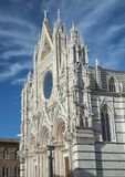 The Cathedral of Siena stock images