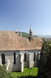 The main cathedral in Sighisoara, Romania Royalty Free Stock Photo