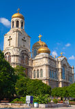 Main Cathedral in Varna, Bulgaria Stock Photos