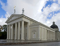 Main catholic cathedral in Vilnius 1 Royalty Free Stock Photos