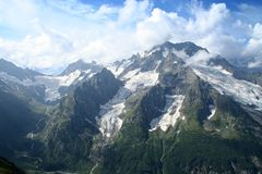 Main Caucasus range Royalty Free Stock Photo