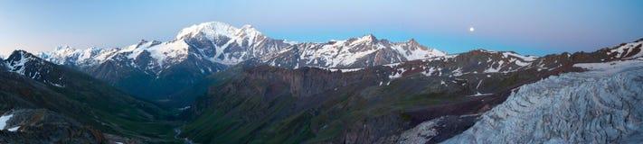 Main Caucasus range panorama Stock Image