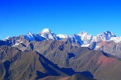 Main caucasus ridge Stock Images