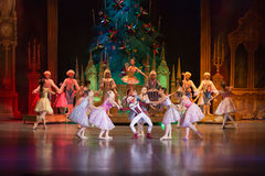 The main characters of fairy The Nutcracker Royalty Free Stock Photography
