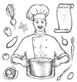 The main chef Royalty Free Stock Image