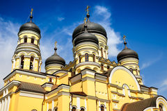 Main church in the Hancu Monastery, Republic Stock Photography