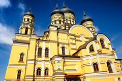 Main church of the Hancu Monastery, Republic Stock Photography
