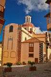Main church in La Orotava, Tenerife. Canary Islands royalty free stock images