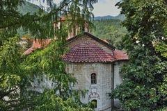 Main church in Medieval Bachkovo Monastery Stock Images