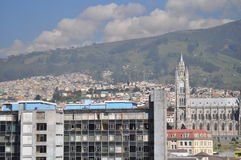 Main church of Quito Royalty Free Stock Images