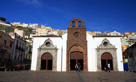 Main Church in SAN SEBASTIAN - LA GOMERA Stock Photos
