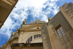 Main church of Sannat in Gozo, Malta Royalty Free Stock Photo