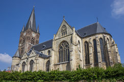 Main church of the Thorn abbey in Limburg Royalty Free Stock Image