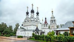 The main church of the Trinity convent (1642-1643) Stock Photo