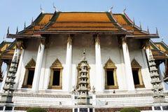 Main Church at Wat Suthat Temple Stock Photo