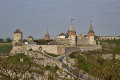 The main city landmark - the old fortress Stock Image