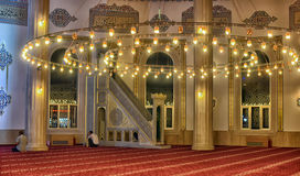 The main city mosque Royalty Free Stock Photo