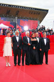 Main competition jury members of Moscow Film Festival Royalty Free Stock Images