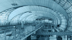 The main concourse of Suvarnabhumi Airport, Stock Photo
