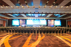 Main Conference Hall Royalty Free Stock Images