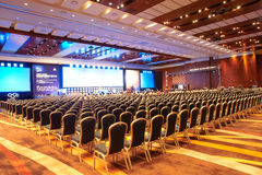 Main Conference Hall Stock Images