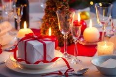 Main course as a Christmas gift Stock Photos