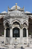 Main court fountain in Yeni Cami Mosque Stock Images