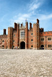 Main Court at Hampton Court Palace near London Stock Images