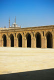 The Main Court of Ibn Tulun Mosque in Cairo Stock Photography