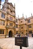 Main courtyard at Bodleian Library, Oxford, UK Royalty Free Stock Photos