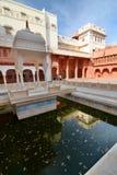 The main courtyard. Junagarh Fort. Bikaner. Rajasthan. India Stock Photos