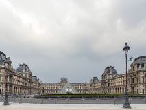Main courtyard of the Louvre Museum Royalty Free Stock Photography