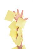 Main d'enfant dans les collants Image libre de droits