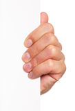 Main d'homme Photographie stock libre de droits
