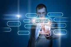 Concept d'homme d'affaires Photo stock
