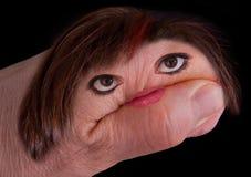 Main d'une femme image libre de droits
